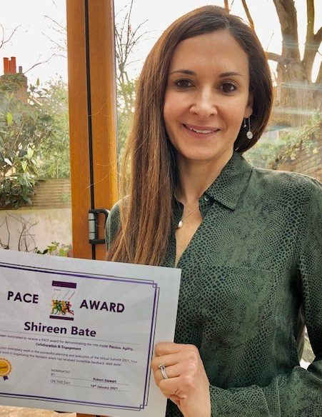 PACE award winner Shireen Bate